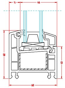 Схема профиля Brusbox